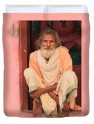 Man From India Duvet Cover