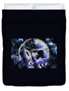 Man In The Moon  Duvet Cover