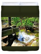 Man Made Waterfall V2 Duvet Cover