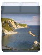 Man O' War Cove - Dorset Duvet Cover