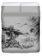 Man Of Sorrows Duvet Cover