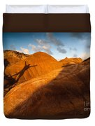 Man On Mars Duvet Cover