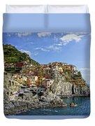Manarola Italy Dsc02563  Duvet Cover