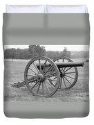 Manassas Battlefield Cannon Duvet Cover