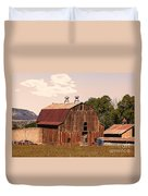 Mancos Colorado Barn Duvet Cover
