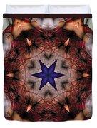 Mandala 14 Duvet Cover by Terry Reynoldson