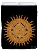 Sand Mandala Duvet Cover