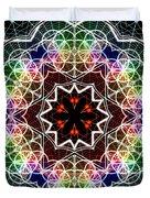 Mandala Cage Of Light Duvet Cover