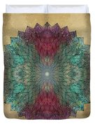 Mandala Crystal Duvet Cover by Filippo B