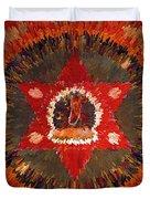 Mandala Naro Khechari Duvet Cover