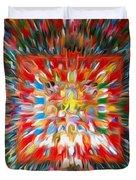Mandala Vasudhara Duvet Cover