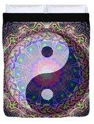Mandala Yin Yang Duvet Cover