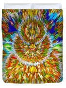 Mandalas Of The Buddha Duvet Cover