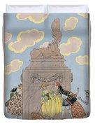 Mandoline Duvet Cover