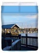 Mandarin Park Boathouse Duvet Cover