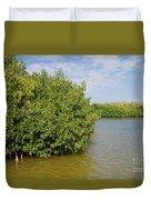 Mangrove Forest Duvet Cover