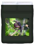 Mangrove Tree Crab Duvet Cover