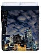 Manhattan Bound Version A Duvet Cover