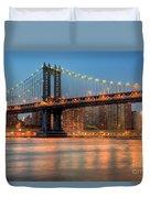 Manhattan Bridge I Duvet Cover