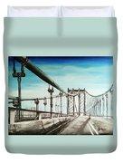 Manhattan Bridge Duvet Cover