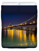 Manhattan Bridge Duvet Cover