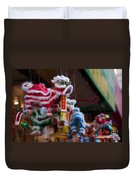 Manhattan Chinatown Decorations Duvet Cover