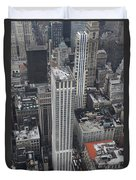 Manhattan City Canyons Duvet Cover