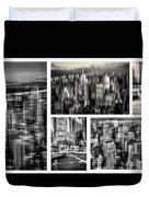 Manhattan Collection II Duvet Cover