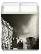Manhattan Contrast Duvet Cover