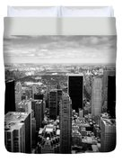 Manhattan Duvet Cover by Dave Bowman
