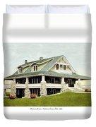 Manhattan Kansas - Manhattan Country Club - 1920 Duvet Cover