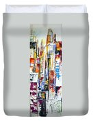 Manhattan Morning Duvet Cover
