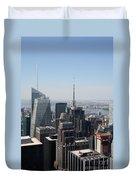 Manhattan View 2012 Duvet Cover