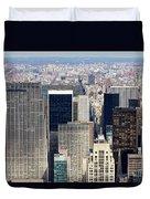Manhattan View Uptown Duvet Cover