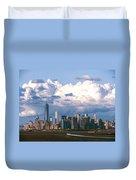 Manhattanincloudbank Duvet Cover