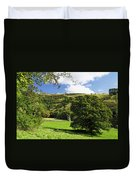 Manifold Valley And Dovecote - Swainsley Duvet Cover