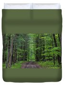 Manistee National Forest Michigan Duvet Cover