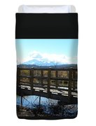 Lake Manitou Sp Woodland Park Co Duvet Cover