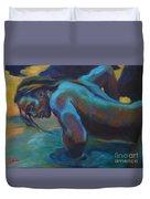 Manly Merman Duvet Cover