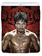Manny Pacquiao Artwork 1 Duvet Cover