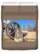 Mansfield Mill Water Wheel Duvet Cover