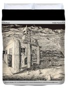 Mansion In Darkness Duvet Cover