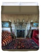 Mansion Sitting Room Duvet Cover by Adrian Evans