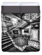 Mansion Stairway V2 Duvet Cover by Adrian Evans
