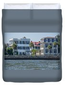 Mansions By The Water Duvet Cover