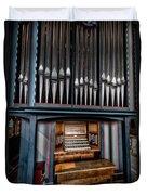 Manual Pipe Organ Duvet Cover