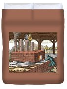 Manufacture Of Arsenic, 1704 Duvet Cover