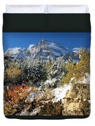 Many Glacier Colors Duvet Cover