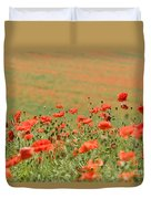 Many Poppies Duvet Cover