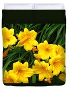 Many Summer Lillies Duvet Cover